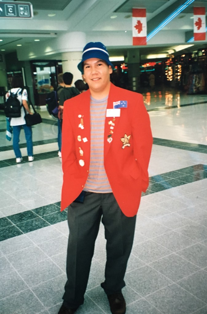 At Toronto's Pearson International Airport on July 31, 1996