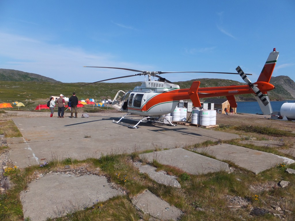 Helicopter Preparation